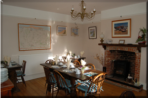 Picture of the breakfast room